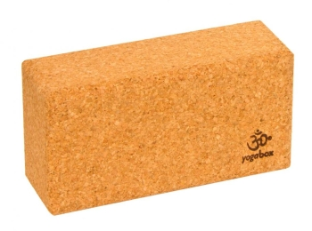 Basic yoga block - cork