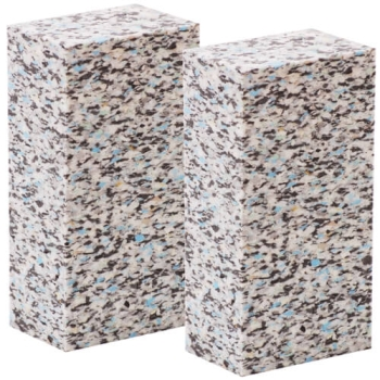 Yoga block - 2 piece - confetti