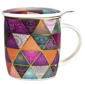 Set of teacup mandala Patchwork