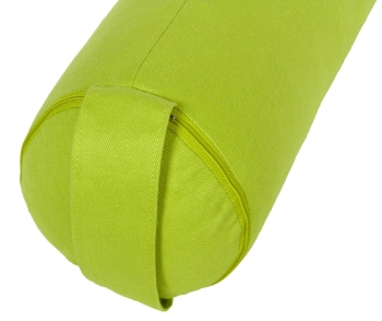 Yoga und Pilates Bolster / Yogakissen small GOTS Made in Germany