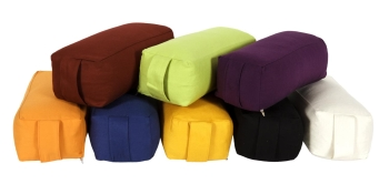 Yoga und Pilates Bolster Rechteck small GOTS Made in Germany
