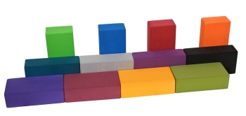 Yoga block high density