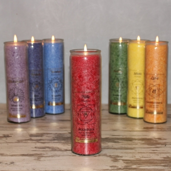 Chakra candle - red