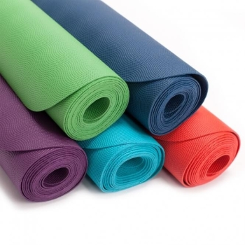 Yoga mat natural rubber EcoPro 185 x 60 x 0,4 cm