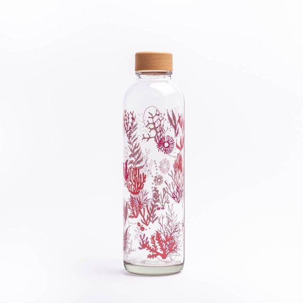 Glastrinkflasche CARRY 0.7 l CORAL REEF