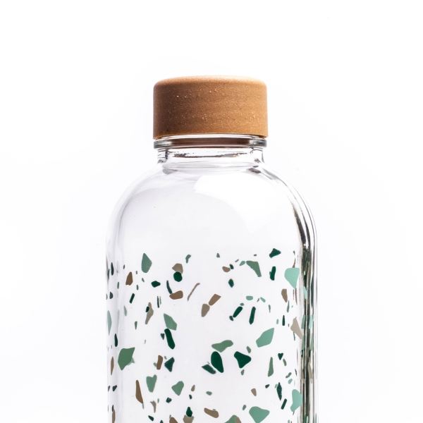 Glastrinkflasche CARRY 1 l TERRAZZO Made in Germany