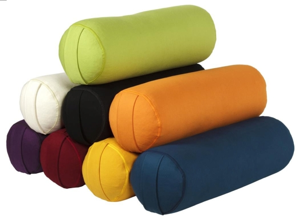 Yoga and Pilates Bolster GOTS Made in Germany