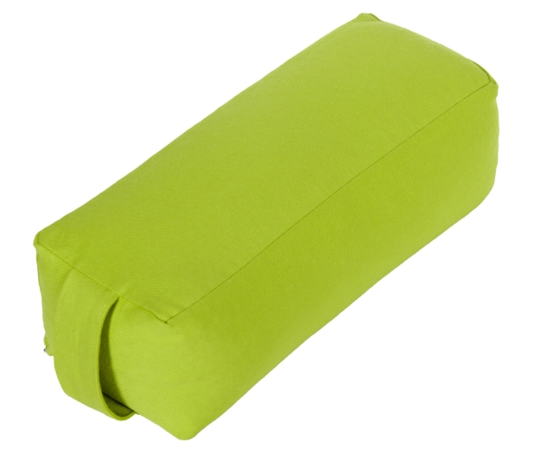 Yoga and Pilates Bolster rectangle small GOTS Made in Germany