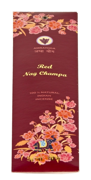 Indian incense sticks - 100% natural - red nag champa